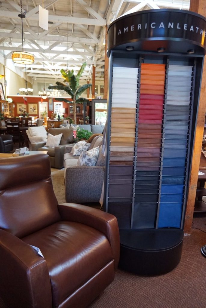 American Leather Comfort Recliner and Leather options