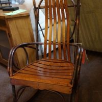 Amish Cherry bentwood Rocker