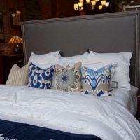 Fabric Headboard - Bed