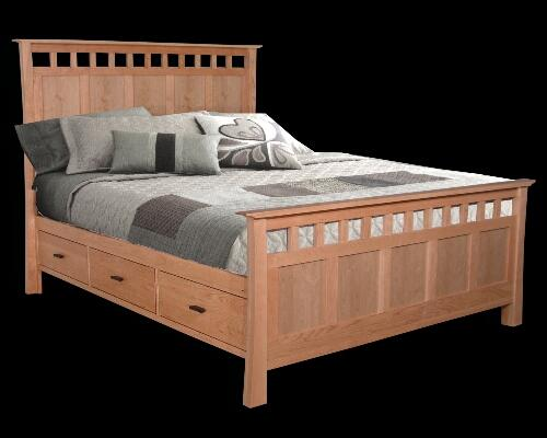Ancona Bedroom In Silver Tone By American Eagle WOptions Silver