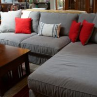 Slipcovered Sectional by Lee Industries