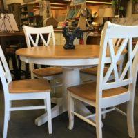 Two-tone Kitchen Table