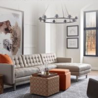 American Leather Sofa and Chaise