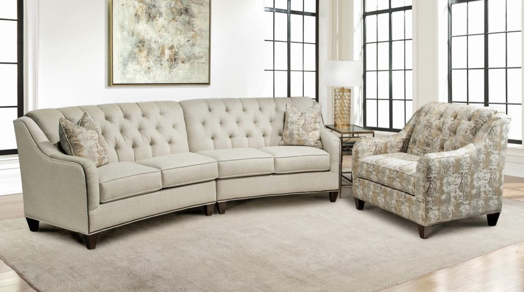 Curved Sofa by Marshfield