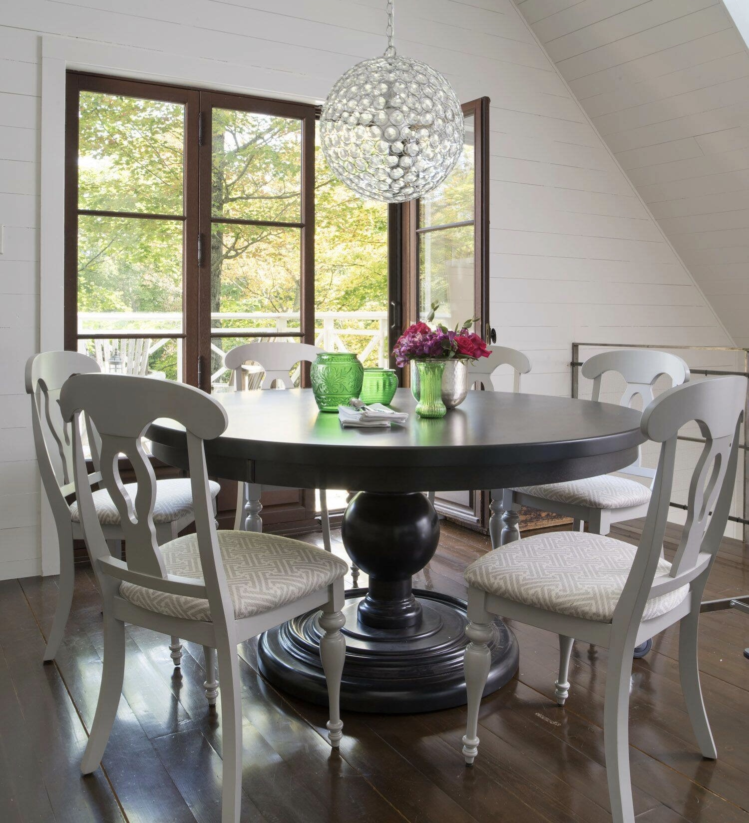 ... Dining By Canadel; Natural Cherry Pedestal Table ...