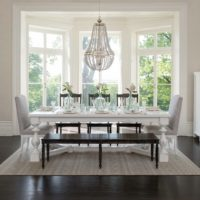 Elegant Farmhouse Dining