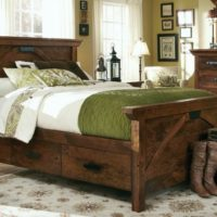 Rustic Amish Bedroom