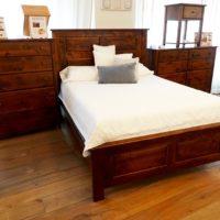 Knotty Alder bedroom